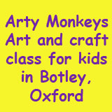 Arty Monkeys Kid's Art Classes