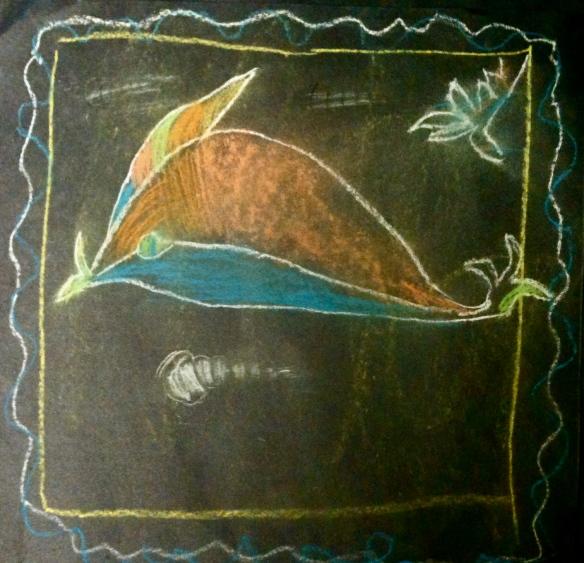 Roman Dolphin chalks